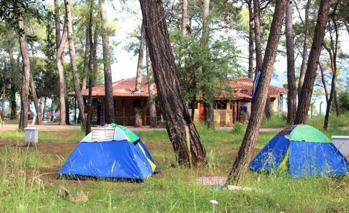 Muğla Akyaka Orman Kampı
