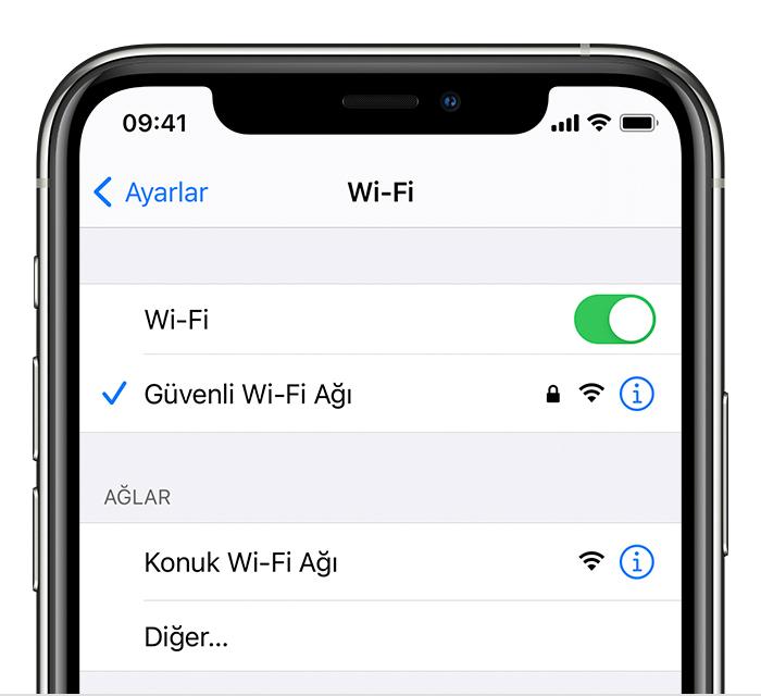 iPhone WiFi Şifresi Öğrenme – Kayıtlı Şifre Nasıl Öğrenilir?