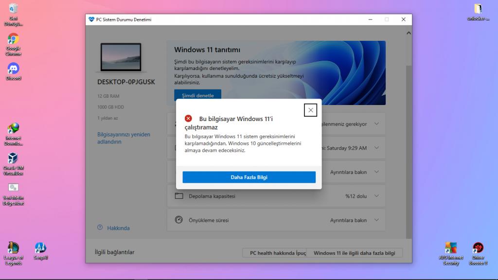 Windows 11 Uyumsuzluk Hatası Nasıl Çözülür?